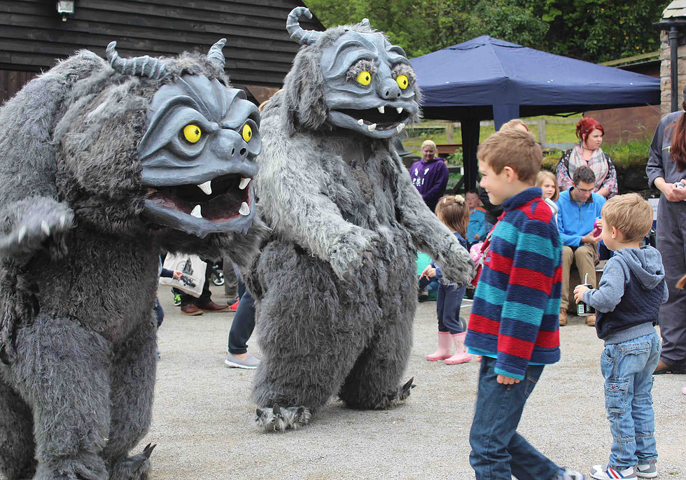 Fantastic Beasts - Find them at Margam Country Park